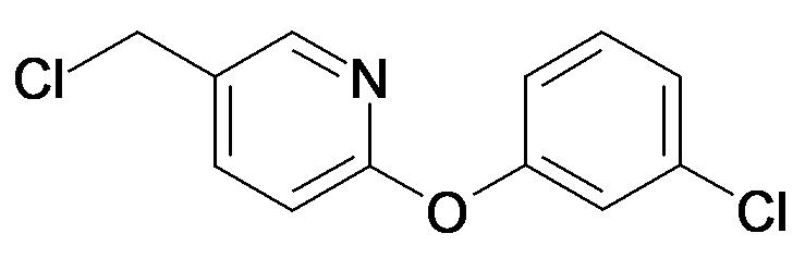 5-Chloromethyl-2-(3-chloro-phenoxy)-pyridine