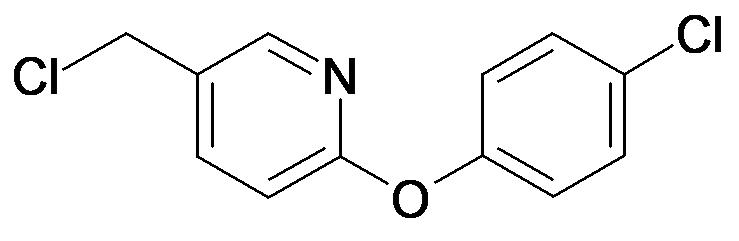 5-Chloromethyl-2-(4-chloro-phenoxy)-pyridine