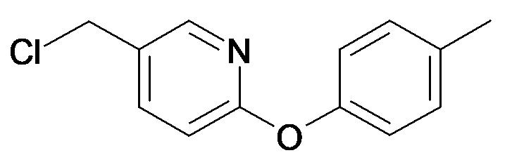 5-Chloromethyl-2-p-tolyloxy-pyridine