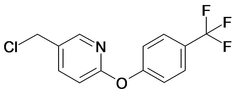 5-Chloromethyl-2-(4-trifluoromethyl-phenoxy)-pyridine