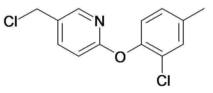 5-Chloromethyl-2-(2-chloro-4-methyl-phenoxy)-pyridine