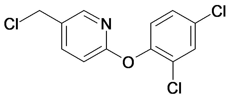 5-Chloromethyl-2-(2,4-dichloro-phenoxy)-pyridine