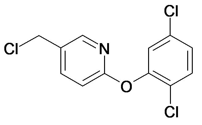 5-Chloromethyl-2-(2,5-dichloro-phenoxy)-pyridine