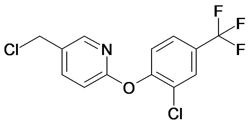 5-Chloromethyl-2-(2-chloro-4-trifluoromethyl-phenoxy)-pyridine
