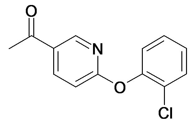 1-[6-(2-Chloro-phenoxy)-pyridin-3-yl]-ethanone