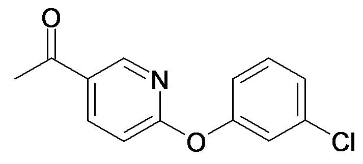 1-[6-(3-Chloro-phenoxy)-pyridin-3-yl]-ethanone