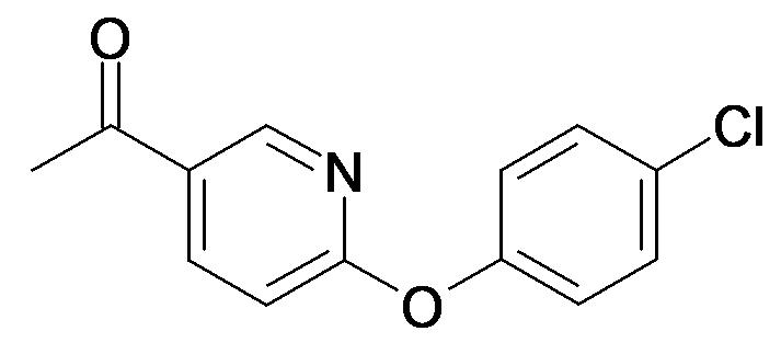 1-[6-(4-Chloro-phenoxy)-pyridin-3-yl]-ethanone