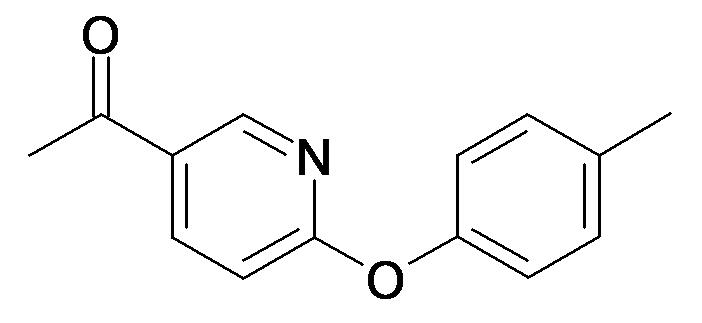 1-(6-p-Tolyloxy-pyridin-3-yl)-ethanone