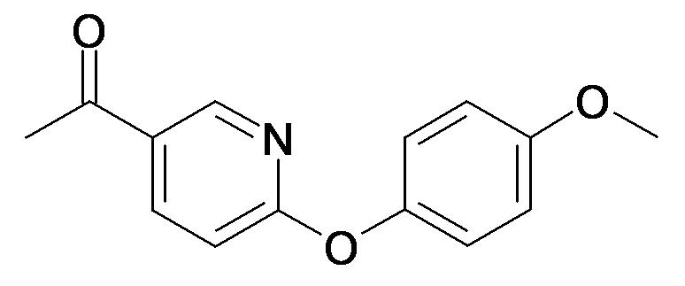1-[6-(4-Methoxy-phenoxy)-pyridin-3-yl]-ethanone