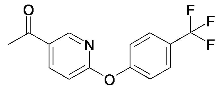 1-[6-(4-Trifluoromethyl-phenoxy)-pyridin-3-yl]-ethanone