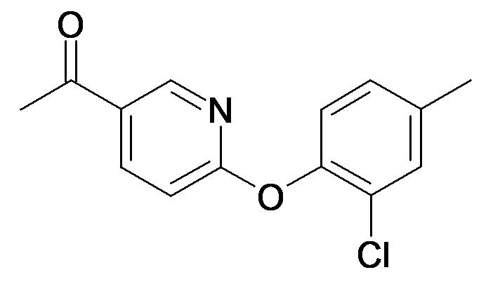 1-[6-(2-Chloro-4-methyl-phenoxy)-pyridin-3-yl]-ethanone