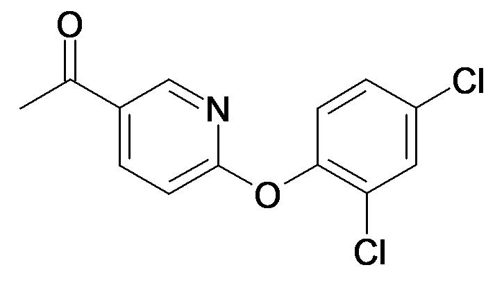 1-[6-(2,4-Dichloro-phenoxy)-pyridin-3-yl]-ethanone