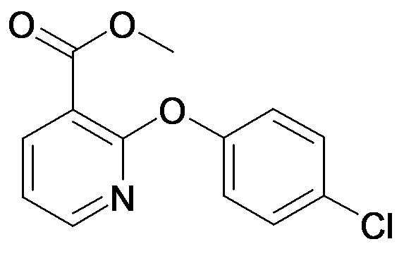 2-(4-Chloro-phenoxy)-nicotinic acid methyl ester