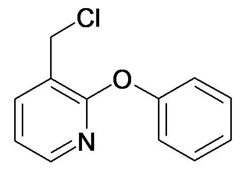 3-Chloromethyl-2-phenoxy-pyridine