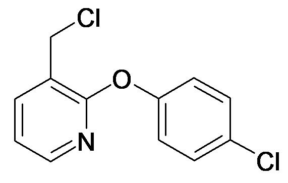 3-Chloromethyl-2-(4-chloro-phenoxy)-pyridine