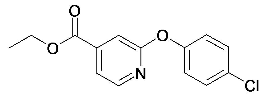 2-(4-Chloro-phenoxy)-isonicotinic acid ethyl ester