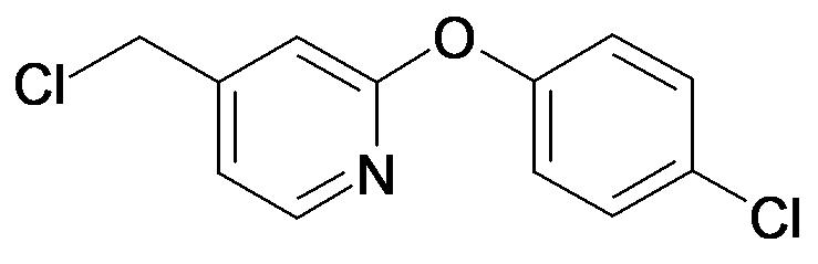 4-Chloromethyl-2-(4-chloro-phenoxy)-pyridine