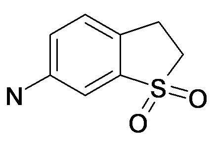 1,1-Dioxo-2,3-dihydro-1H-1lambda*6*-benzo[b]thiophen-6-ylamine
