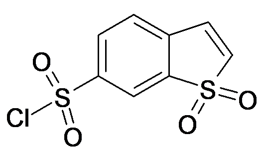 1,1-Dioxo-1H-1lambda*6*-benzo[b]thiophene-6-sulfonyl chloride