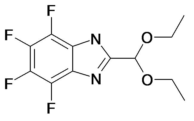 2-Diethoxymethyl-4,5,6,7-tetrafluoro-1H-benzoimidazole