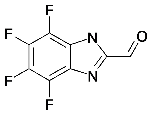 4,5,6,7-Tetrafluoro-1H-benzoimidazole-2-carbaldehyde