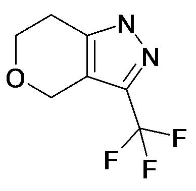 3-Trifluoromethyl-1,4,6,7-tetrahydro-pyrano[4,3-c]pyrazole