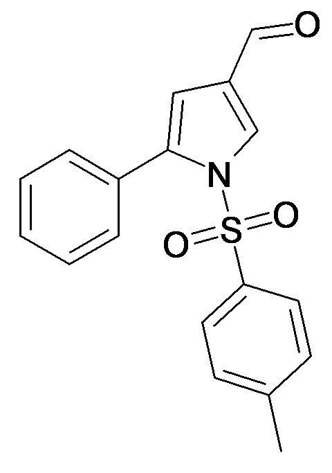 5-Phenyl-1-(toluene-4-sulfonyl)-1H-pyrrole-3-carbaldehyde