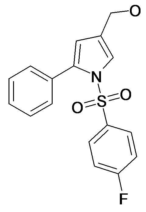 [1-(4-Fluoro-benzenesulfonyl)-5-phenyl-1H-pyrrol-3-yl]-methanol
