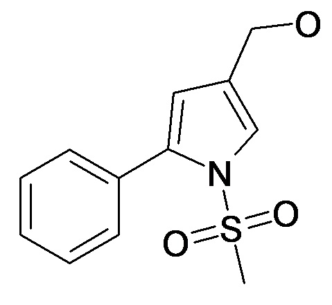 (1-Methanesulfonyl-5-phenyl-1H-pyrrol-3-yl)-methanol