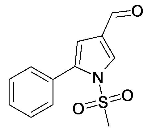 1-Methanesulfonyl-5-phenyl-1H-pyrrole-3-carbaldehyde