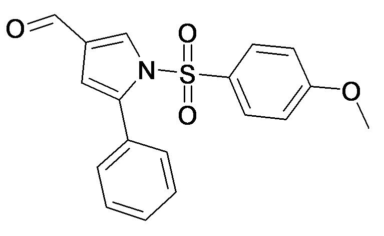 1-(4-Methoxy-benzenesulfonyl)-5-phenyl-1H-pyrrole-3-carbaldehyde