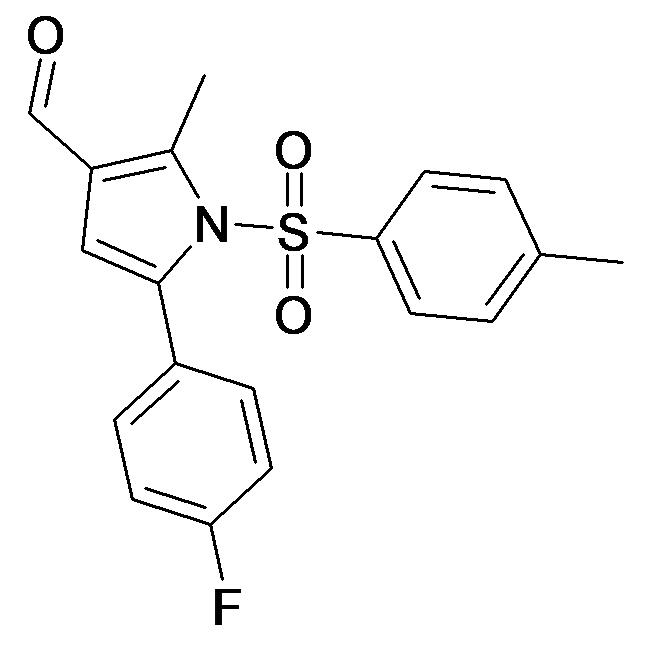 5-(4-Fluoro-phenyl)-2-methyl-1-(toluene-4-sulfonyl)-1H-pyrrole-3-carbaldehyde