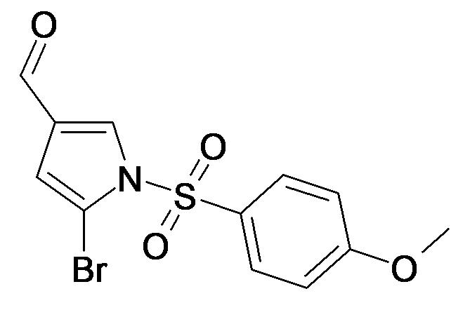 5-Bromo-1-(4-methoxy-benzenesulfonyl)-1H-pyrrole-3-carbaldehyde