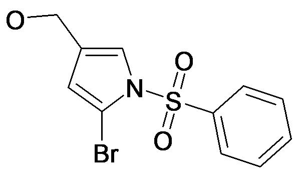 (1-Benzenesulfonyl-5-bromo-1H-pyrrol-3-yl)-methanol