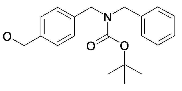 Benzyl-(4-hydroxymethyl-benzyl)-carbamic acid tert-butyl ester