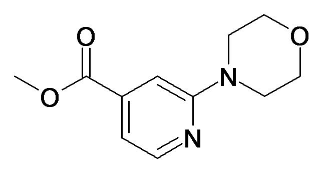 2-Morpholin-4-yl-isonicotinic acid methyl ester
