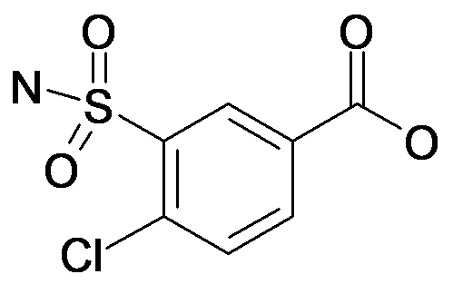 4-Chloro-3-sulfamoyl-benzoic acid