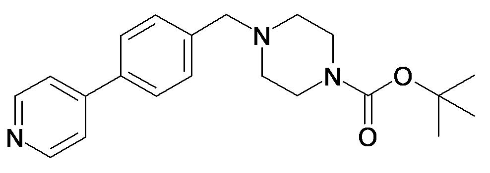 4-(4-Pyridin-4-yl-benzyl)-piperazine-1-carboxylic acid tert-butyl ester