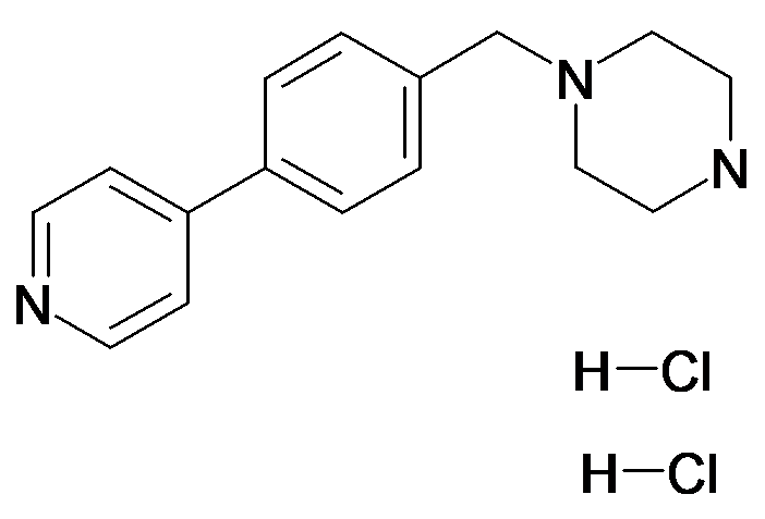1-(4-Pyridin-4-yl-benzyl)-piperazine, dihydrochloride
