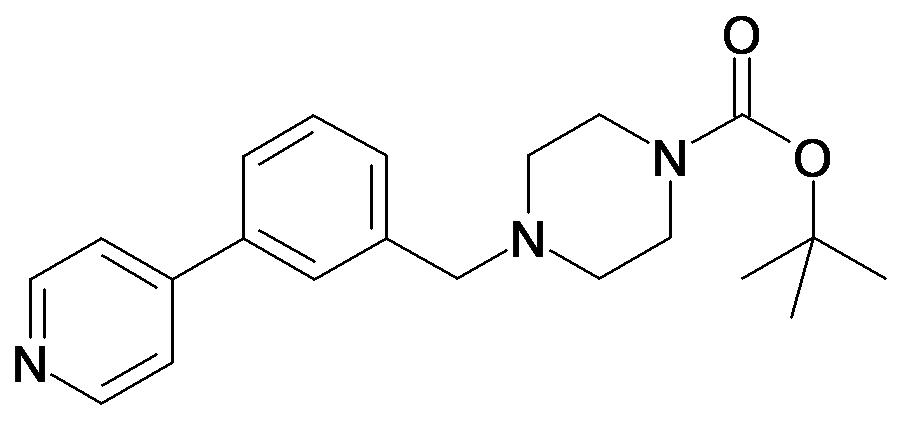 4-(3-Pyridin-4-yl-benzyl)-piperazine-1-carboxylic acid tert-butyl ester