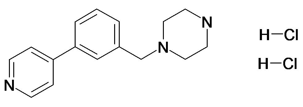 1-(3-Pyridin-4-yl-benzyl)-piperazine, dihydrochloridee