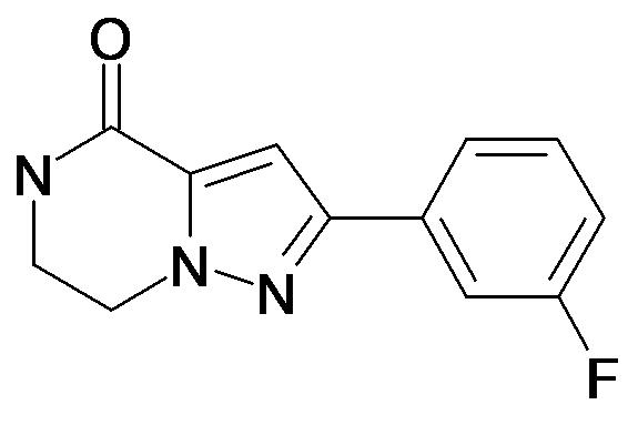 2-(3-Fluoro-phenyl)-6,7-dihydro-5H-pyrazolo[1,5-a]pyrazin-4-one