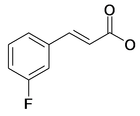 (E)-3-(3-Fluoro-phenyl)-acrylic acid
