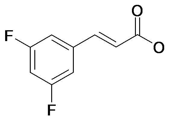 (E)-3-(3,5-Difluoro-phenyl)-acrylic acid