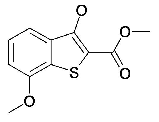 3-Hydroxy-7-methoxy-benzo[b]thiophene-2-carboxylic acid methyl ester