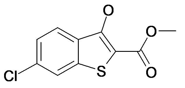 6-Chloro-3-hydroxy-benzo[b]thiophene-2-carboxylic acid methyl ester
