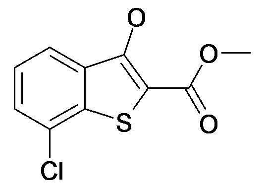 7-Chloro-3-hydroxy-benzo[b]thiophene-2-carboxylic acid methyl ester