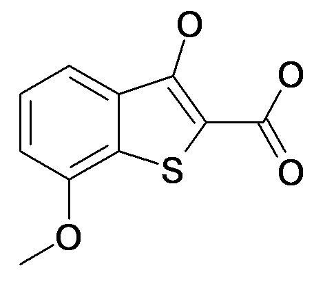 3-Hydroxy-7-methoxy-benzo[b]thiophene-2-carboxylic acid