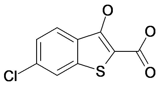 6-Chloro-3-hydroxy-benzo[b]thiophene-2-carboxylic acid