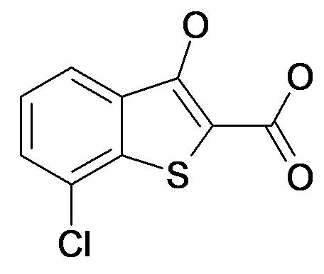 7-Chloro-3-hydroxy-benzo[b]thiophene-2-carboxylic acid